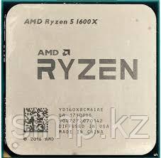 Процессор AMD Ryzen 5 1600X 3,6Гц (4,0ГГц Turbo)  6-ядер 12 потоков, 3MB L2, 16 MB L3, 95W, AM4, OEM