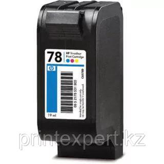 Картридж HP C6578DE Tri-color Inkjet Print Cartridge №78,19ml,, фото 2