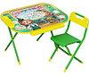 Набор мебели Дэми Дошколёнок Чиполлино зеленый