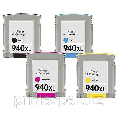 Картридж HP C4906AE Black Cartridge №940XL, 59.5ml, for DJ Pro 8000/8500 up to 2200 pages JET TEK, фото 2