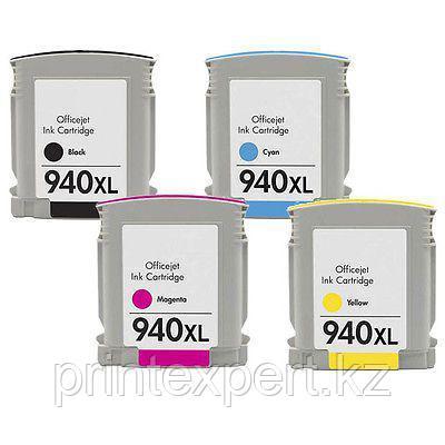 Картридж HP C4909AE Yellow Cartridge №940XL, 20.5ml for DJ Pro 8000/8500 up to 1400 pages JET TEK, фото 2