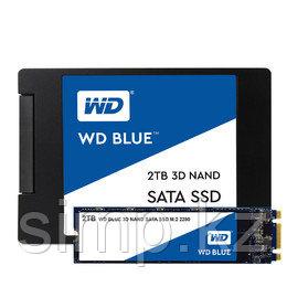 Твердотельный накопитель 500GB SSD WD WDS500G2B0B Серия BLUE 3D NAND M.2 2280
