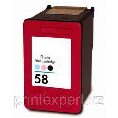 Картридж HP C6658AE Photo Color Inkjet Print Cartridge №58, 17ml,