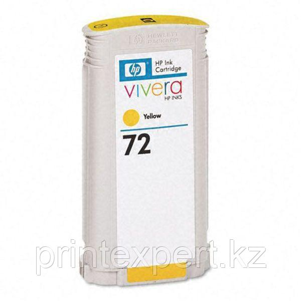 Картридж HP C9373A Yellow №72, for DJ T610/T1100 130ml JET TEK