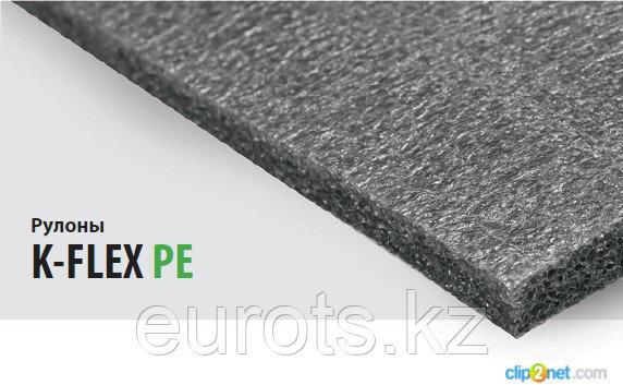 Теплоизоляция K-FLEX PE. Рулон Metal AD