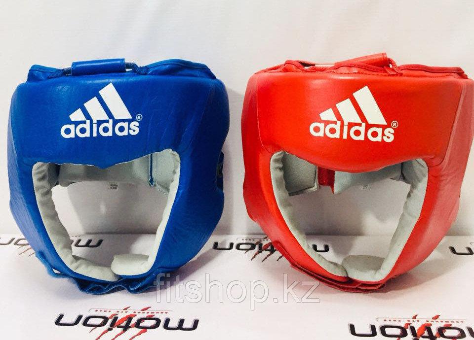 Копия Кожаный шлем для бокса Adidas