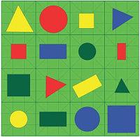 Игровое поле «Цвета и формы». 500*500мм