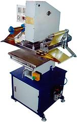 TJ-9 пневмо-пресс, тиснение фольгой