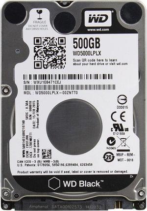 WD Жесткий диск для ноутбука WD5000LPLX , фото 2
