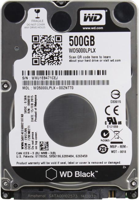 WD Жесткий диск для ноутбука WD5000LPLX