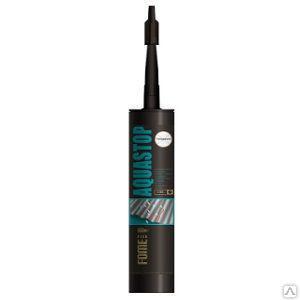 Герметик Fome Flex Aguastop 300мл каучуковый прозрачный