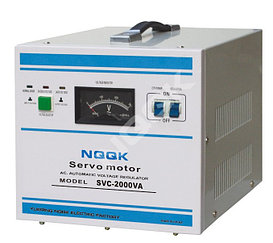 Однофазный регулятор напряжения SVC 2KVA Тип сервопривода