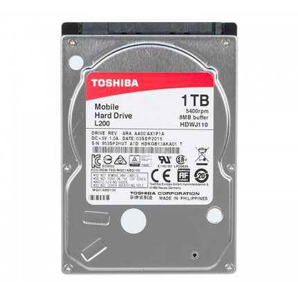 TOSHIBA Жесткий диск для ноутбука MQ04ABF100, фото 2