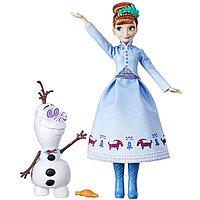 Hasbro Disney Princess Холодное сердце Рождество с Олафом Анна