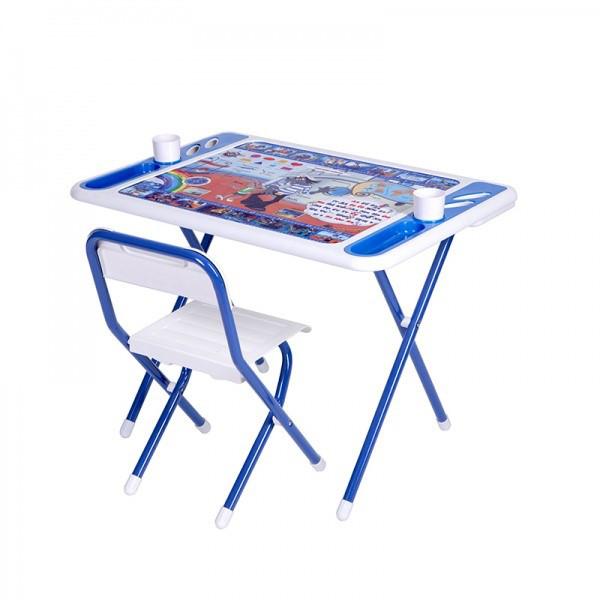 Дэми Набор мебели Дэми №у3-05 Damibaby evro (бело-синий) Ну,погоди
