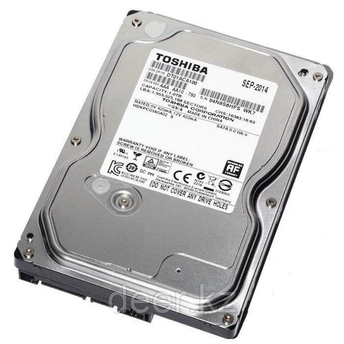 Жесткий диск Toshiba 1TB 7200rpm 32MB DT01ACA100