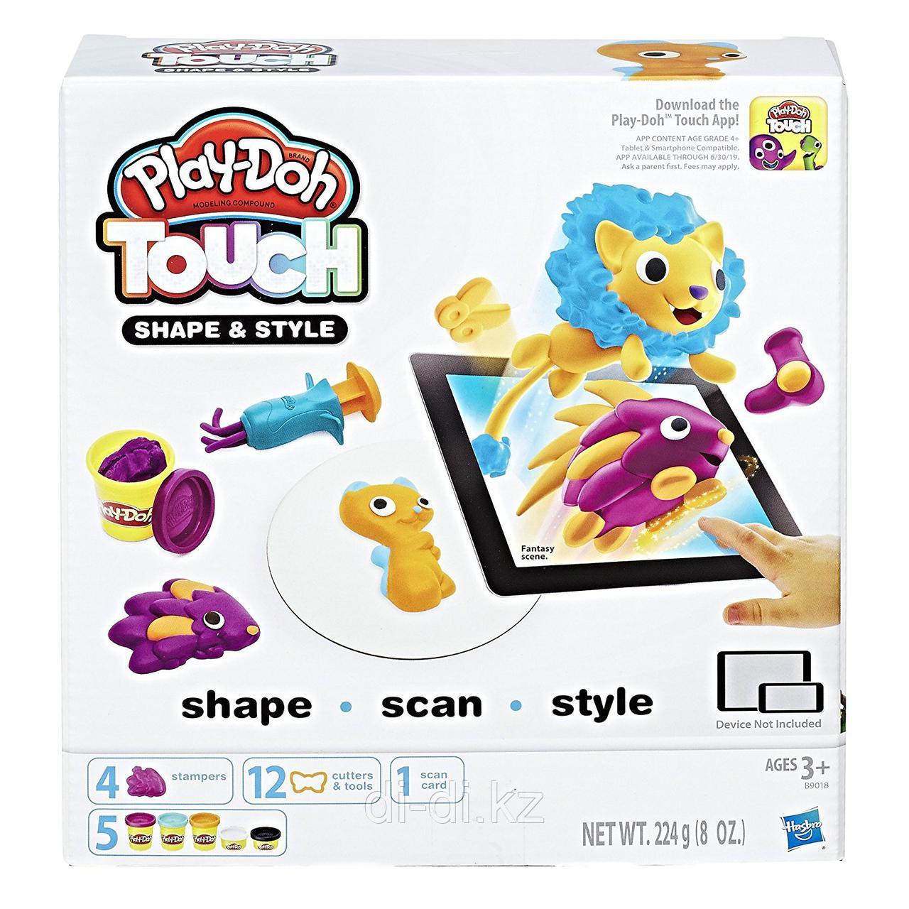 """Play-Doh Игровой набор """"Лепи и делай причёски"""""""