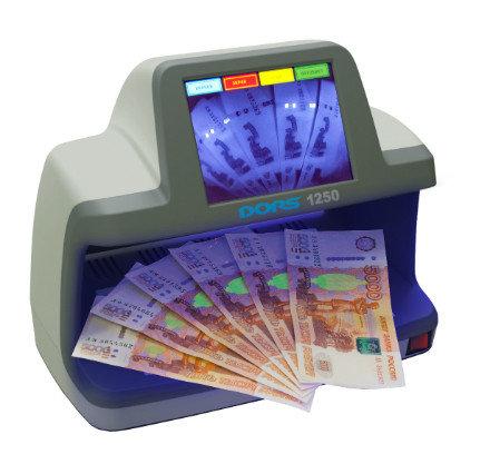 DORS 1250 Инфракрасный детектор валют, фото 2