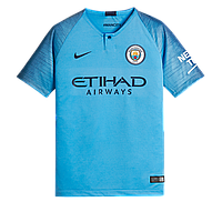 Форма футбольного клуба Манчестер Сити 2018/2019 Домашняя.