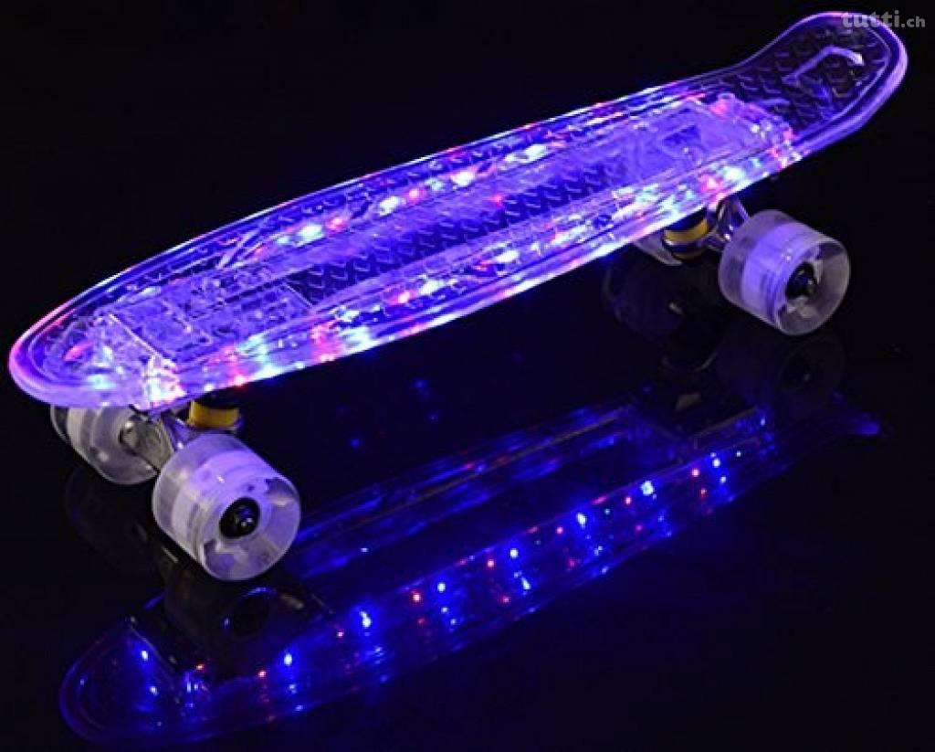 Пенниборд с LED подсветкой