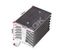 Алюминиевый радиатор с DIN-рейкой, фото 1