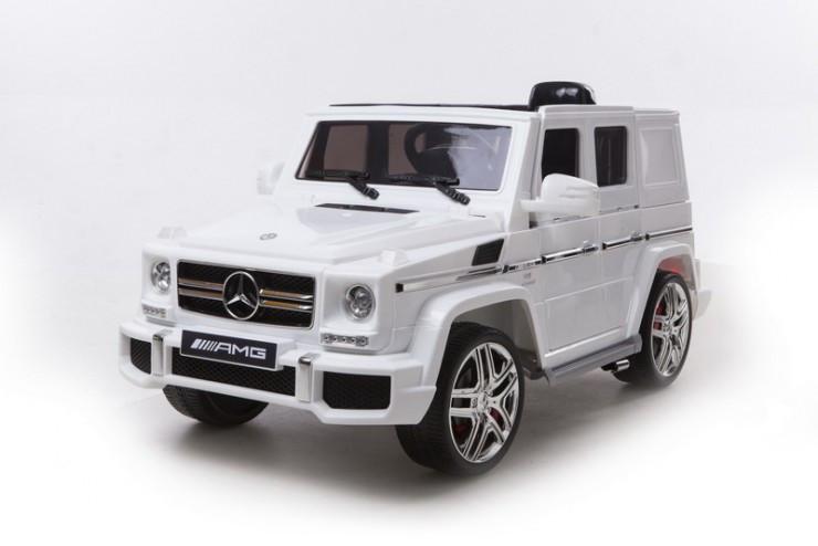 Электромобиль Mercedes Benz G63,белый