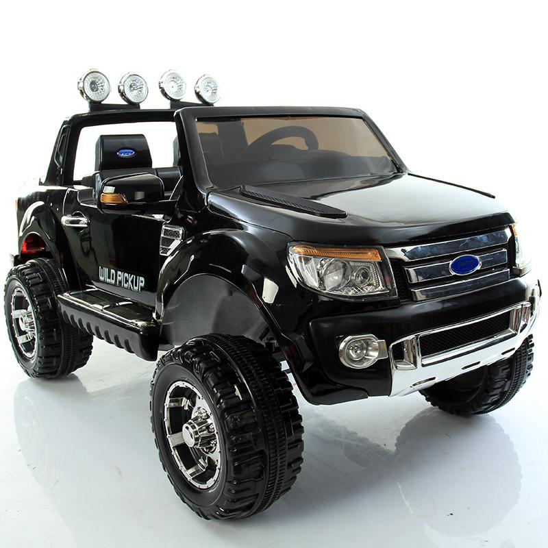 Электромобиль детский Ford 4WD Wild Pickup, черный