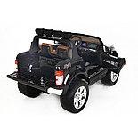 Электромобиль детский Ford 4WD Wild Pickup, черный, фото 2