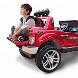 Электромобиль детский Ford 4WD Wild Pickup, черный, фото 4