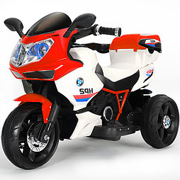 Детский электромотоцикл-трицикл HP2,красный