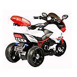 Детский электромотоцикл-трицикл HP2,красный, фото 4