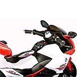 Детский электромотоцикл-трицикл HP2,красный, фото 5