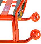 Санки Тимка 8 комфорт, оранжевый, фото 2