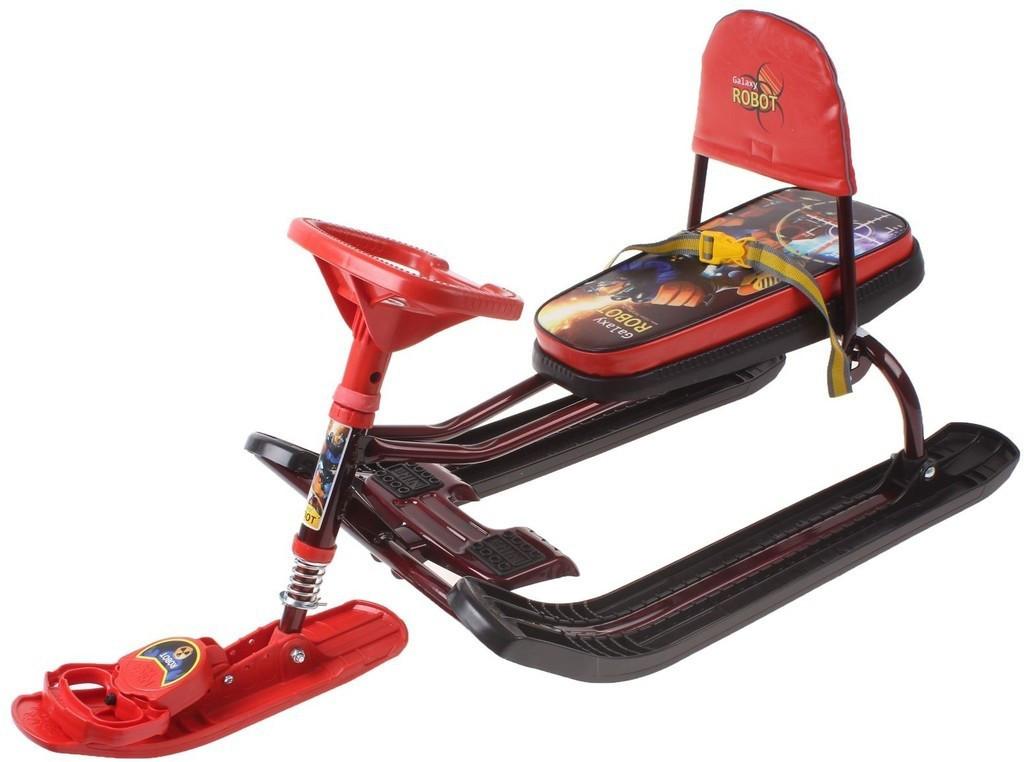 """Снегокат Тимка спорт ТС4-1 """"Робот"""" (высокое сиденье)"""