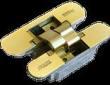 Ручка дверная Кинг -эмаль золото\серебро, фото 7