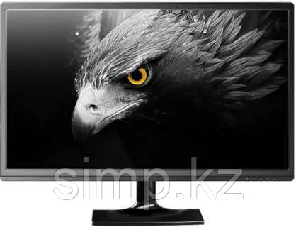 "Монитор 23,6"" Qmax M2485B, Black, 1980x1080 LED, 2ms, 16:9, 250 cd/m2, 176°/170°,  1000:1 (5М:1) , D-Sub"
