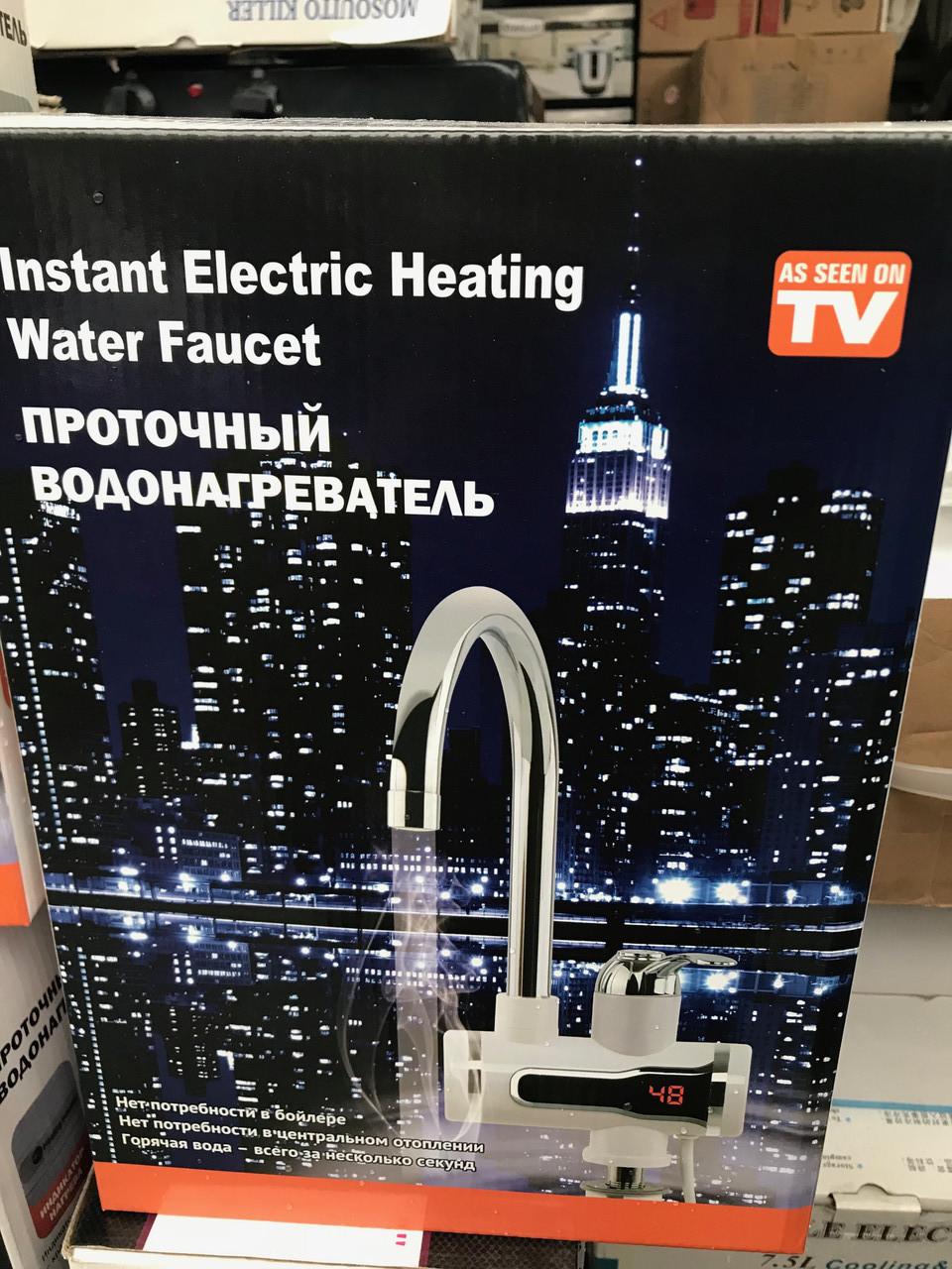 Проточный электрический водонагреватель - фото 2