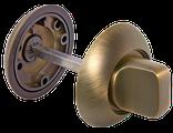 Ручка дверная RAP -матовый никель;бронза, фото 9