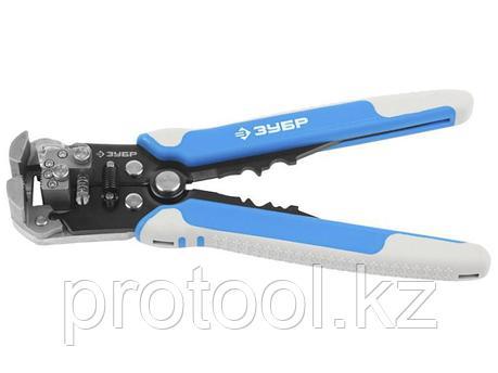 Мультиинструмент электромонтажный со съемником изоляции и встроенным ножом, сталь У8А, ЗУБР, фото 2