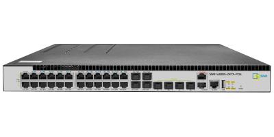 Управляемый POE коммутатор уровня 3 SNR-S300G-24TX-POE без блоков питания