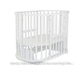 СКВ-10  Кровать детская универсальная, цвет белый