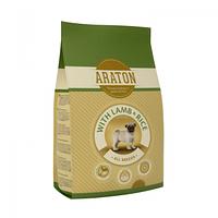 Сухой корм для щенков всех пород Araton Junior All Breeds lamb&rice (ягненок с рисом)