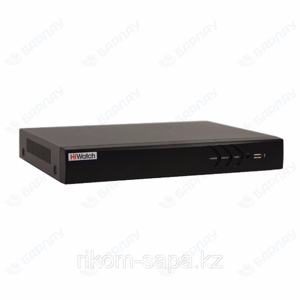 Гибридный HD-TVI видеорегистратор HiWatch DS-H208U
