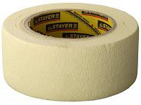 Лента малярная Stayer Profi (высокоэластичная, для сложных поверхностей, 50 мм х 25 м)