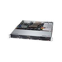 Supermicro CSE-813MTQ-441\X11SSl-F\Xeon E3-1220v5\8GB RAM DDR4 ECC\2x1TB SATA\2xGLAN\441W\Rack 1U