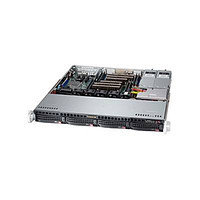 Supermicro CSE-813MTQ-441\X11SSl-F\Xeon E3-1220v5\8GB RAM DDR4 ECC\2x1TB SATA\2xGLAN\441W\Rack 1U, фото 2