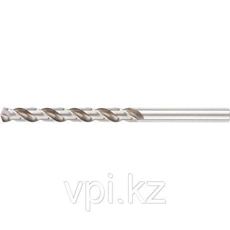 Сверло по металлу, быстрорежущая сталь HSS, полированное, 10мм, Matrix