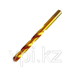Сверло по металлу, нитридтитановое покрытие, HSS,  3.3мм,