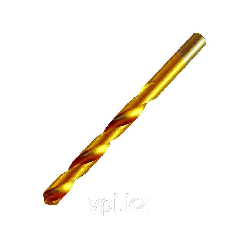 Сверло по металлу, нитридтитановое покрытие, HSS,  15.5мм,