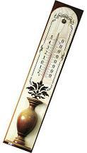 Термометр из натурального дерева